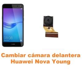 Cambiar cámara delantera Huawei Nova Young