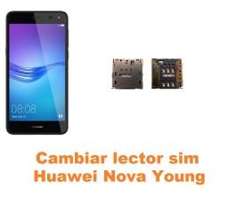 Cambiar lector sim Huawei Nova Young
