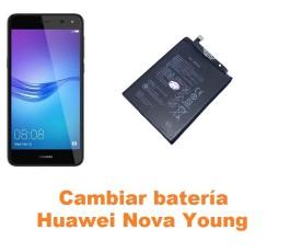 Cambiar batería Huawei Nova Young
