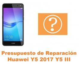 Presupuesto de reparación Huawei Y5 2017 Y5 III