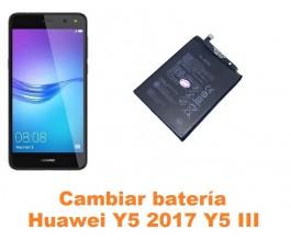 Cambiar batería Huawei Y5 2017 Y5 III
