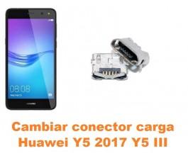 Cambiar conector carga Huawei Y5 2017 Y5 III