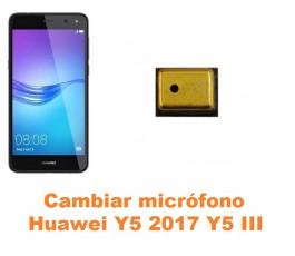 Cambiar micrófono Huawei Y5 2017 Y5 III