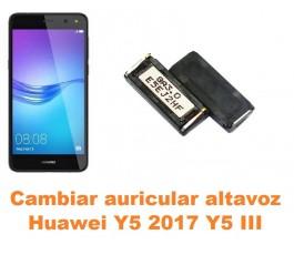 Cambiar auricular altavoz Huawei Y5 2017 Y5 III