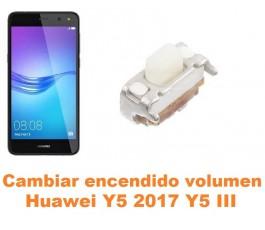 Cambiar encendido y volumen Huawei Y5 2017 Y5 III