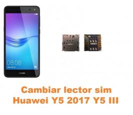 Cambiar lector sim Huawei Y5 2017 Y5 III