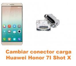 Cambiar conector carga Huawei Honor 7i Shot X