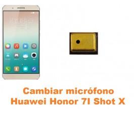 Cambiar micrófono Huawei Honor 7i Shot X