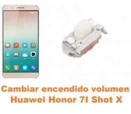 Cambiar encendido y volumen Huawei Honor 7i Shot X