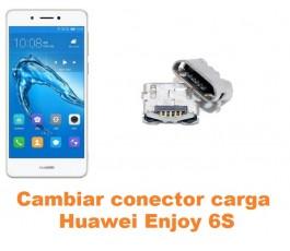 Cambiar conector carga Huawei Enjoy 6S