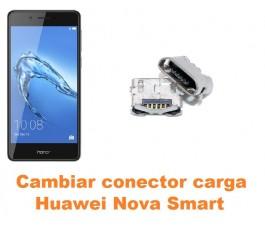 Cambiar conector carga Huawei Nova Smart