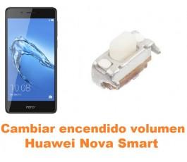 Cambiar encendido y volumen Huawei Nova Smart