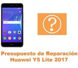 Presupuesto de reparación Huawei Y5 Lite 2017