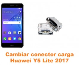 Cambiar conector carga Huawei Y5 Lite 2017