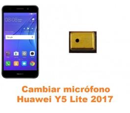 Cambiar micrófono Huawei Y5 Lite 2017