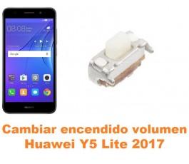 Cambiar encendido y volumen Huawei Y5 Lite 2017