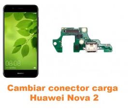Cambiar conector carga Huawei Nova 2