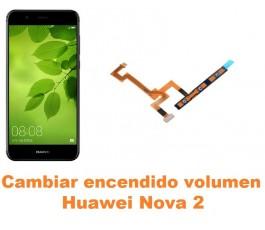 Cambiar encendido y volumen Huawei Nova 2