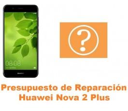 Presupuesto de reparación Huawei Nova 2 Plus