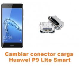 Cambiar conector carga Huawei P9 Lite Smart