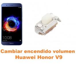 Cambiar encendido y volumen Huawei Honor V9
