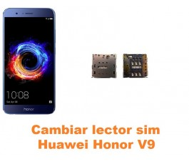 Cambiar lector sim Huawei Honor V9