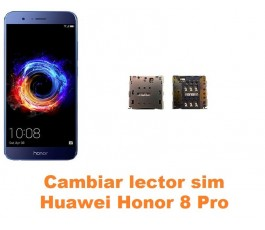 Cambiar lector sim Huawei Honor 8 Pro