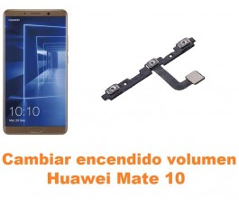 Cambiar encendido y volumen Huawei Mate 10