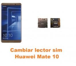Cambiar lector sim Huawei Mate 10