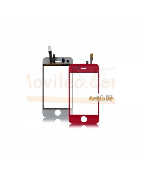 Pantalla táctil color rojo para iPhone 3Gs - Imagen 1