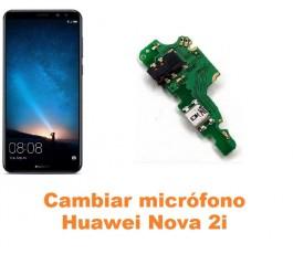 Cambiar micrófono Huawei Nova 2i