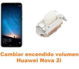 Cambiar encendido y volumen Huawei Nova 2i
