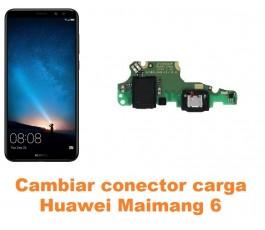 Cambiar conector carga Huawei Maimang 6