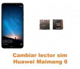 Cambiar lector sim Huawei Maimang 6