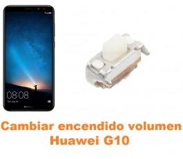 Cambiar encendido y volumen Huawei G10