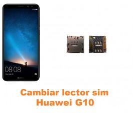 Cambiar lector sim Huawei G10