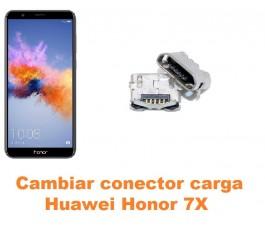 Cambiar conector carga Huawei Honor 7X
