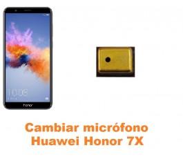 Cambiar micrófono Huawei Honor 7X