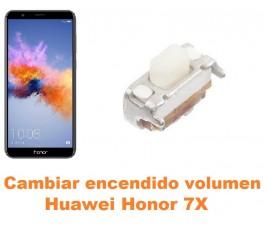Cambiar encendido y volumen Huawei Honor 7X