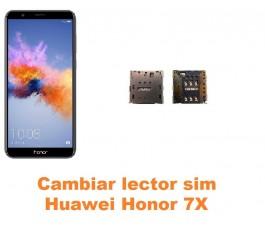 Cambiar lector sim Huawei Honor 7X