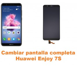 Cambiar pantalla completa Huawei Enjoy 7S