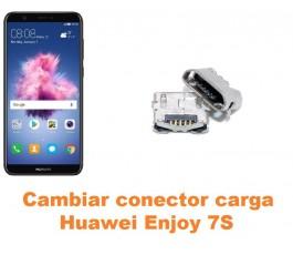 Cambiar conector carga Huawei Enjoy 7S