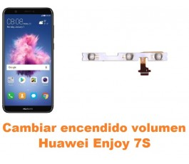 Cambiar encendido y volumen Huawei Enjoy 7S