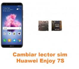 Cambiar lector sim Huawei Enjoy 7S