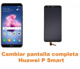 Cambiar pantalla completa Huawei P Smart