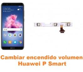 Cambiar encendido y volumen Huawei P Smart