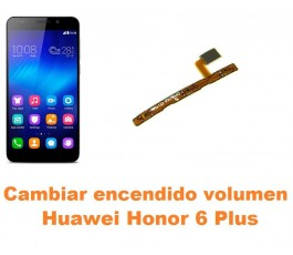 Cambiar encendido y volumen Huawei Honor 6 Plus