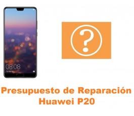 Presupuesto de reparación Huawei P20