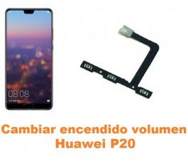 Cambiar encendido y volumen Huawei P20
