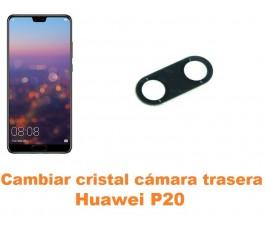 Cambiar cristal cámara trasera Huawei P20